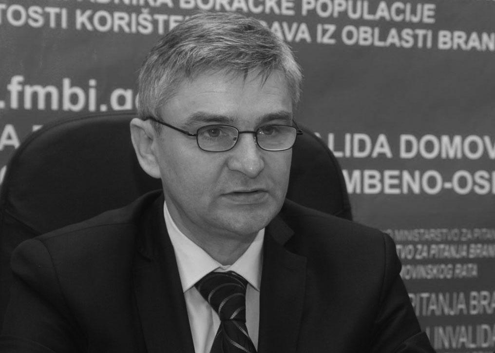 Preminuo federalni ministar za pitanja boraca i invalida odbrambeno-oslobodilačkog rata  Salko Bukvarević