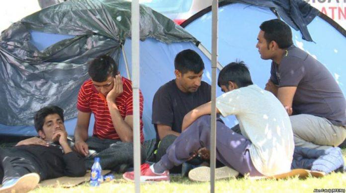 migranti prebacivanje kamp