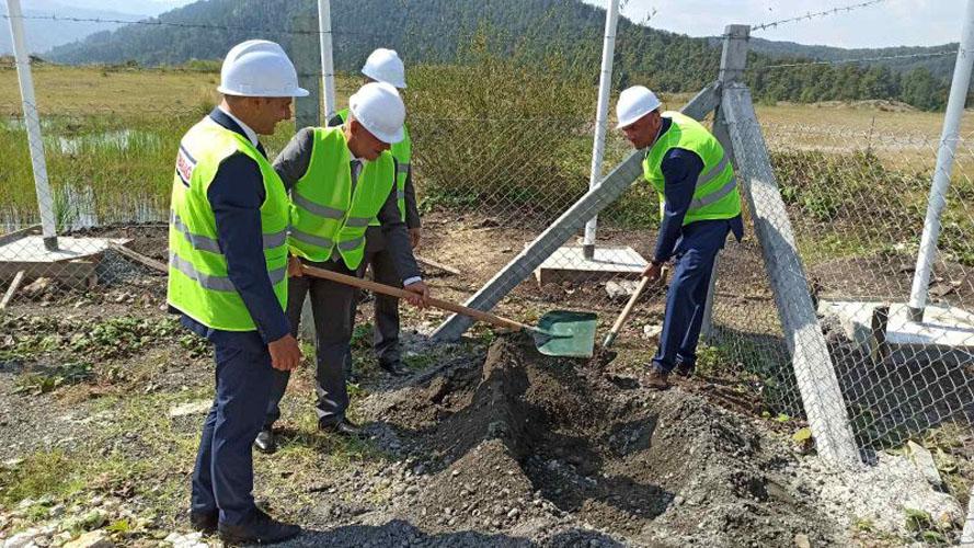 Položen kamen temeljac za izgradnju eko deponije u Živinicama   Tuzla L!VE