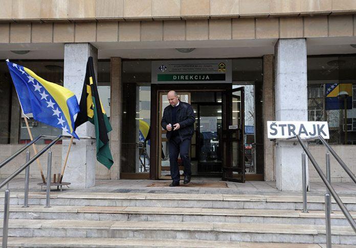 sud zabrana strajk rudari kreka