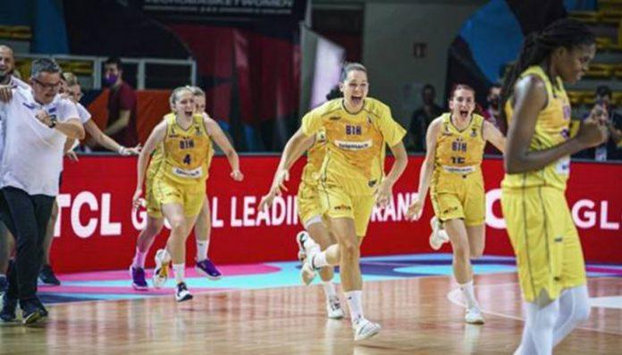 Košarkašice BiH danas protiv Švedske na EP