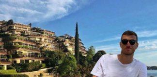 Edin Džeko specijalno iznenađenje, odmor, crna gora