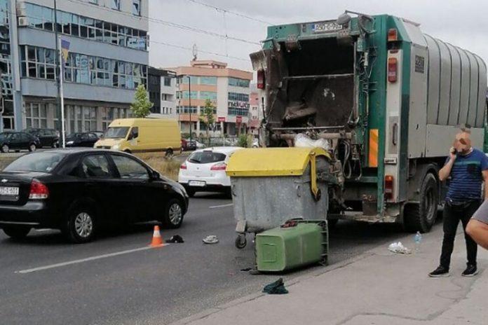Vozač udario komunalnog radnika Sarajevo