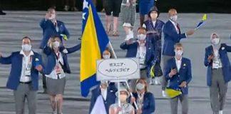 zastava bih otvaranje olimpijske igre tokio