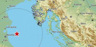 potres jadransko more rimini italija