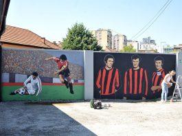 murali legende fk sloboda stadion tusanj tuzla