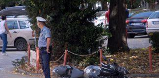 policija povrijedjen motociklista nesreca slatina tuzla