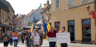 protesti penzioneri tuzla
