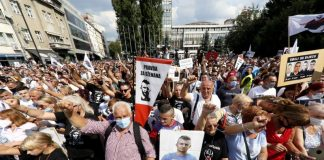 protesti, pravda, dzenan memic sarajevo