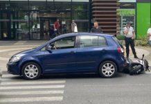 saobracajna nesreca automobil motocikl bbc tuzla