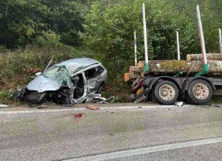 tesak saobracajna nesreca poginula jedna osoba busovaca