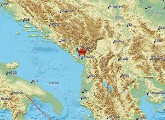 zemljotres albanija granica crna gora