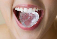 grickanje leda stetno zdravlje zubi