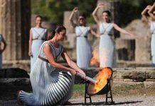 plamen drevna olimpija zimske olimpijske igre peking