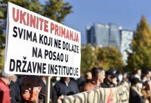 protesti gradjani ohr sarajevo
